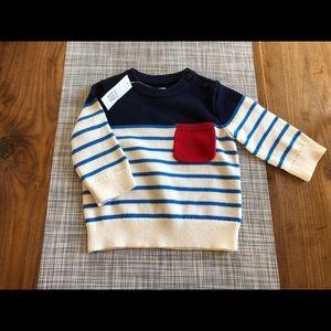 Baby GAP sweater, size 3-6 months